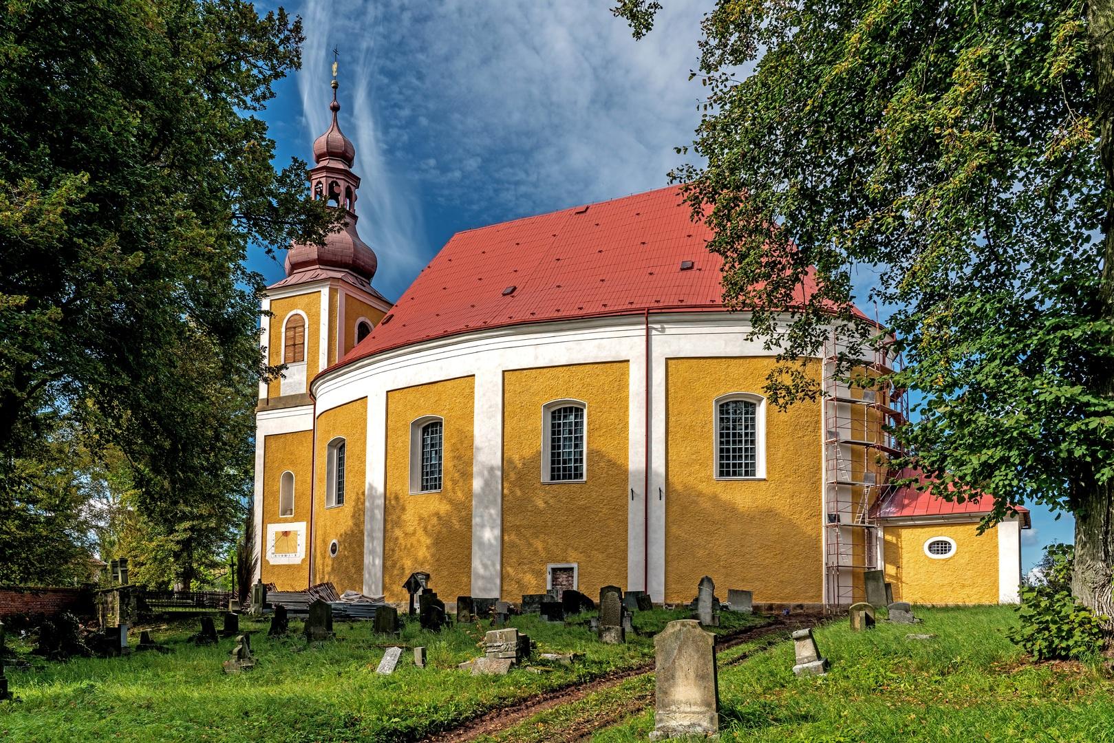 Kostel sv. Michaela, Vernéřovice