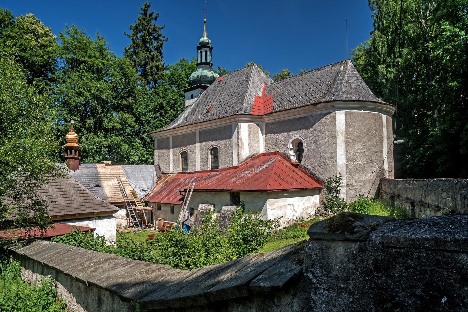 Kostel Panny Marie Pomocné, Teplice nad Metují / Kamenec