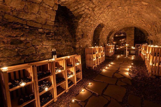 Degustace vín v Benediktinských sklepích
