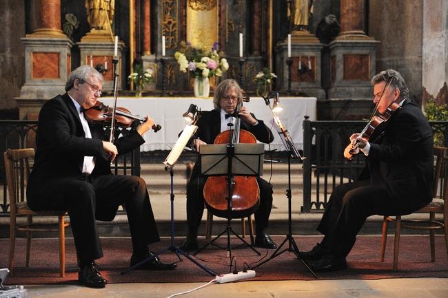2010 | Členové Stamicova kvarteta - Josef Kekula, Jan Pěruška, Petr Hejný